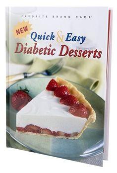 Diabetic Desserts offers 45 AMAZING recipes!