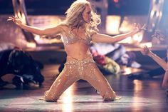 """Britney performing """"Oops...I Did It Again"""" at the MTV VMA's in 2000."""