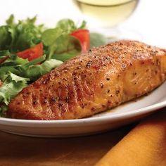 6 oz. Marinated Salmon Fillets