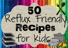 50 Reflux Friendly Recipes