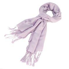 Pashmina Scarf Lavender Paisley