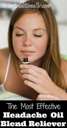 The Most Effective Headache Oil Blend Reliever magazin avantag, headache oil