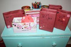 DIY Valentine's Day Card Mailbox