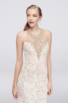 Allover Ivory Lace M