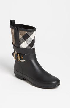 Burberry 'Holloway' Rain Boot