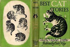 Best Cat Stories, 1942....OOooooh! I want this.