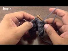 Knit the Slip Slip Purl Through the Back Loop Decrease (SSP TBL)