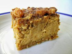 Brown Sugar {Pumpkin Cheesecake} with Pecans