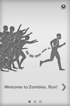Zombies, Run!  Training for Run for your life 5k.