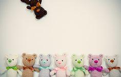 Buy Little Teddy Bear amigurumi pattern - AmigurumiPatterns.net