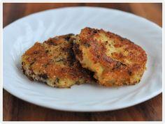 Parmesan Crusted Fried Mashed Potato Cakes Recipe
