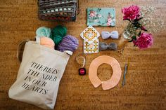 one sheepish girl: What's In My Yarn Bag? with Rebecca Caridad