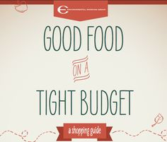 Good Food on a Tight Budget