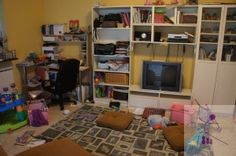 Play Room/Office--Before