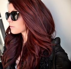 Loving this color for fall/winter Perfect  red hair