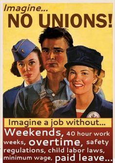 No Unions!?