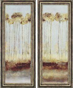 Trees Framed Wall Art - Set of 2 - Art Prints - Wall Decor - Home Decor | HomeDecorators.com
