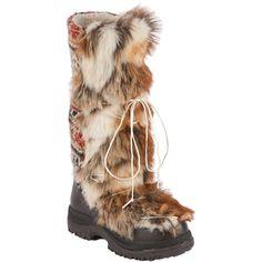 MUK LUKS Womens Sesu - Southwest Fairisle Tall Snow Boot