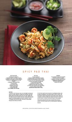 Enjoy this SilkHarvest Restaurant favorite - Spicy Pad Thai From Celebrity Cruises