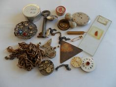 Vintage Steampunk Altered Art Kit £7.00