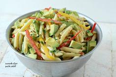 Avocado Dijon Pasta Salad Recipe  FOOD PORN  RECIPES  HEALTHY RECIPES  HEALTHY FOOD  HEALTHY COOKING  COOKING   Paleo Diet Paleo Recipes #recipes #healthy #cooking #paleo
