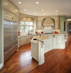 Country Residence traditional kitchen