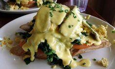 #vegan Benedict recipe from M Cafe