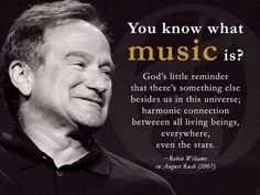 Robin Williams in August Rush