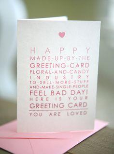 Anti-Valentines card