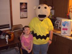 A Charlie Brown costume I made a few years ago
