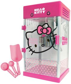Nothing Tastes Better Than Hello Kitty Popped Popcorn- perfect for a party!
