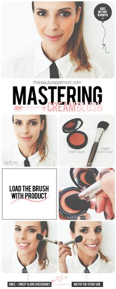 Find out why cream blush is our favorite type of blush!