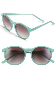 Retro color sunglasses, yes.