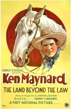 The Land Beyond The Law, 1927. #Western #cowboys #vintage #movies #posters #1920s