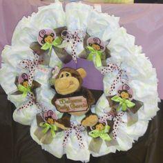 Diaper Wreath Ideas