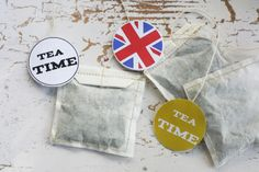 Homemade Tea and Printable Tea Bags - A Brilliant Stocking Stuffer Gift Idea for the Tea Lover