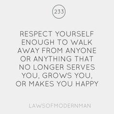 Respect respectyourself, truth, inspir, walk, quot