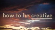 What is creativity, and how can you inspire it in yourself and your students? Great video from PBS.