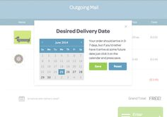 Postable   Schedule Delivery Date https://www.postable.com/