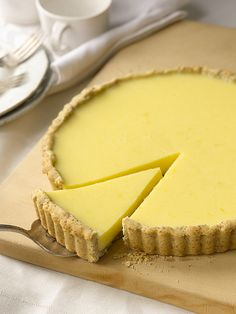 Lemon Curd Tart with Almond Crust from Cook Like a Rock Star by Anne Burrell