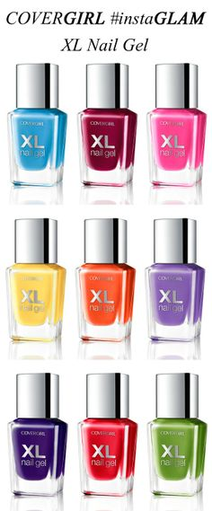 COVERGIRL XL Nail Gel part of the #instaGLAM collection via @All Lacquered Up