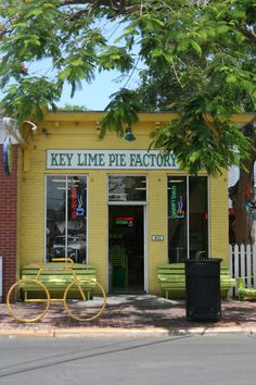 Storefront- Key Lime Pie Factory in Key West, Florida