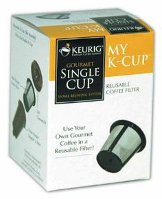 Keurig My K-Cup Reusable Coffee Filter: Amazon.com: Kitchen & Dining