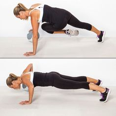 This advanced push-up variation works the core like you wouldn't believe!