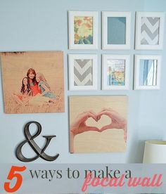 5 Ways to Make A Focal Wall!! Great tips from Tatertots and Jello!! | eBay #spon
