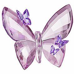 lights, butterfli figurin, light amethyst, butterflies, larg
