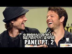 Supernatural Panel Part 2 - Comic-Con 2014 Better Quality :)
