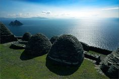 BeeHive Huts, Slea Head Drive by Dingle, Ireland