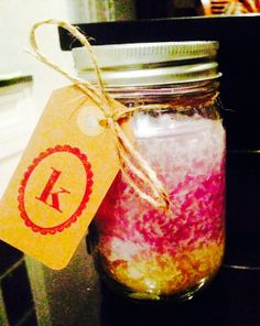 Mason Jar Candles on Etsy