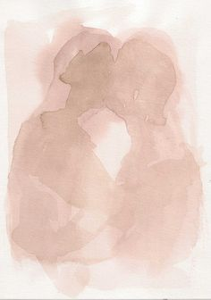 artwork by Fran??ois Henri Galland Watercolor is abstractly beautiful when it allows ones eyes to use imagination